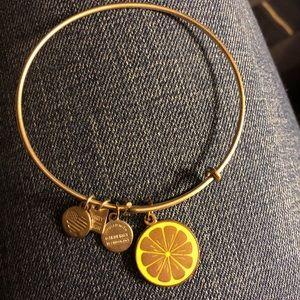 Alex and Ani lemon bracelet